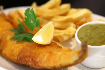 Beer Battered Fillet of Haddock