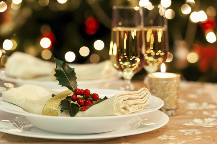 Festive Dining at Hunday Manor Hotel